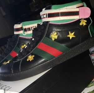 Gucci men shoes size 11 with straps